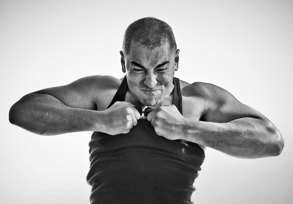 hand bent steel strongman dan cenidoza feats of strength